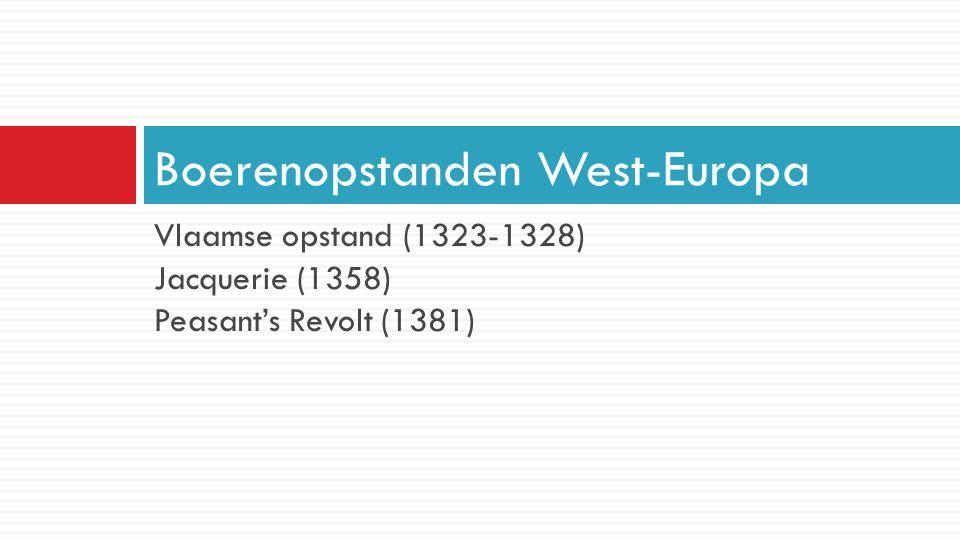 Boerenopstanden West-Europa
