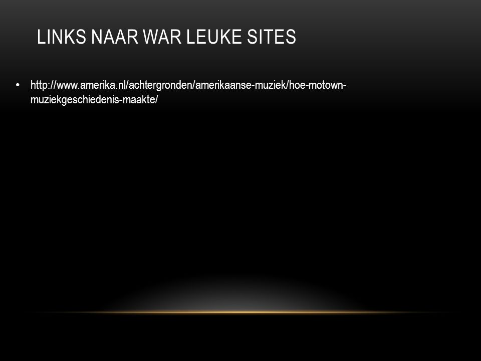 Links naar war leuke sites