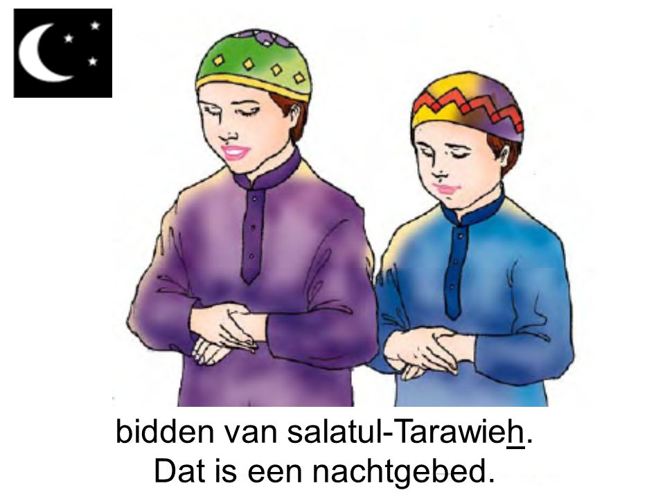 bidden van salatul-Tarawieh.