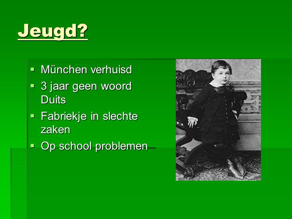 Jeugd München verhuisd 3 jaar geen woord Duits