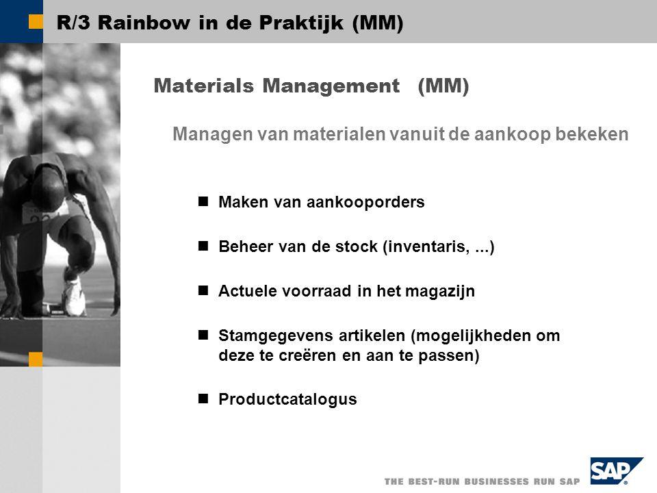 R/3 Rainbow in de Praktijk (MM)