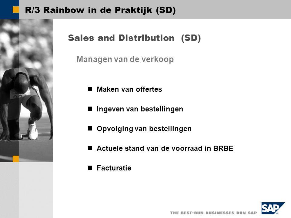 R/3 Rainbow in de Praktijk (SD)