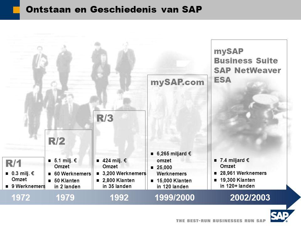 Ontstaan en Geschiedenis van SAP