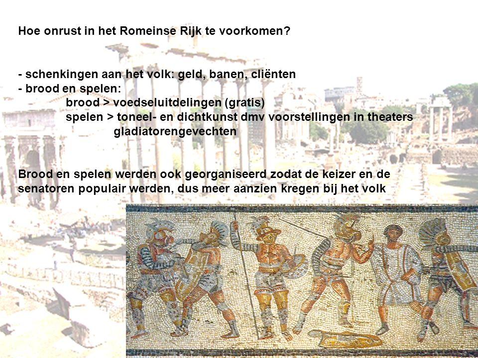 Hoe onrust in het Romeinse Rijk te voorkomen