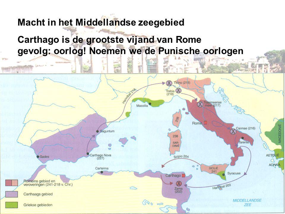 Macht in het Middellandse zeegebied
