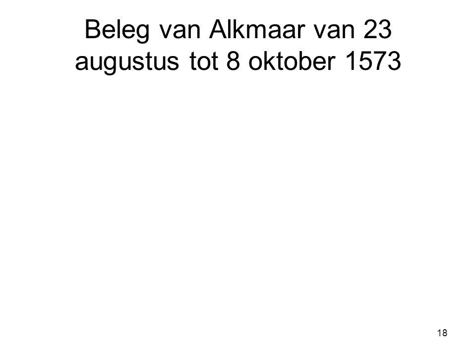 Beleg van Alkmaar van 23 augustus tot 8 oktober 1573