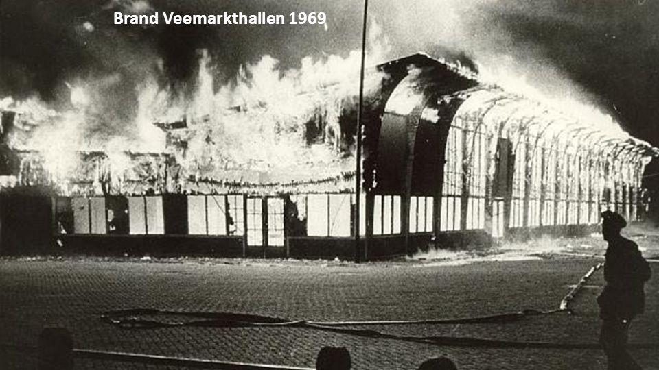 Brand Veemarkthallen 1969