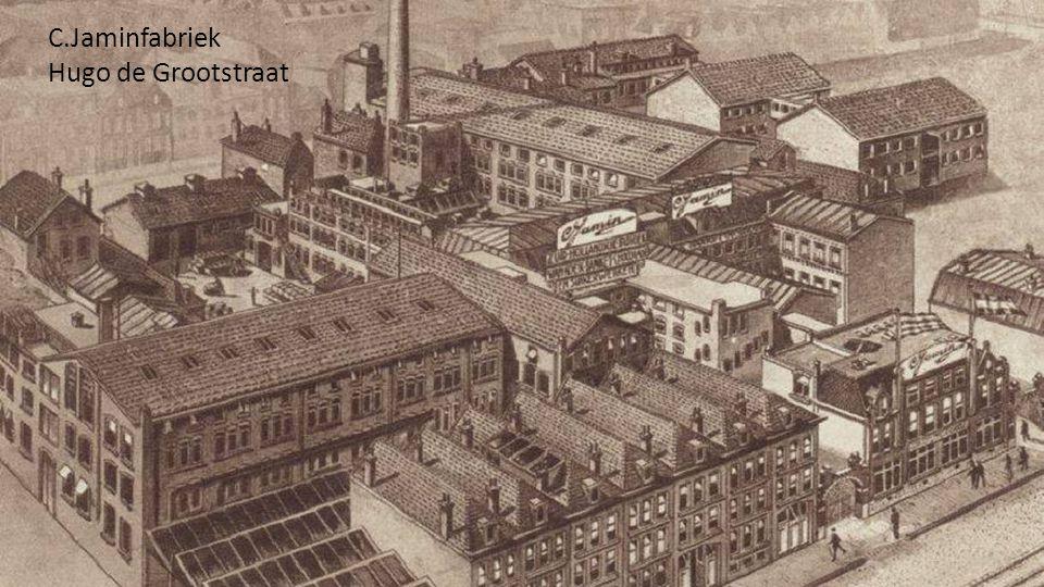 C.Jaminfabriek Hugo de Grootstraat