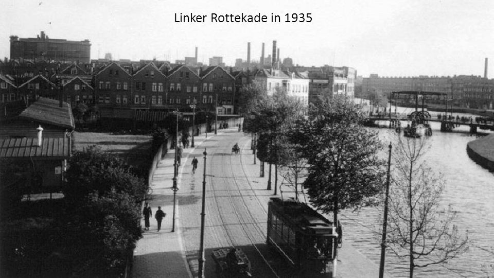 Linker Rottekade in 1935