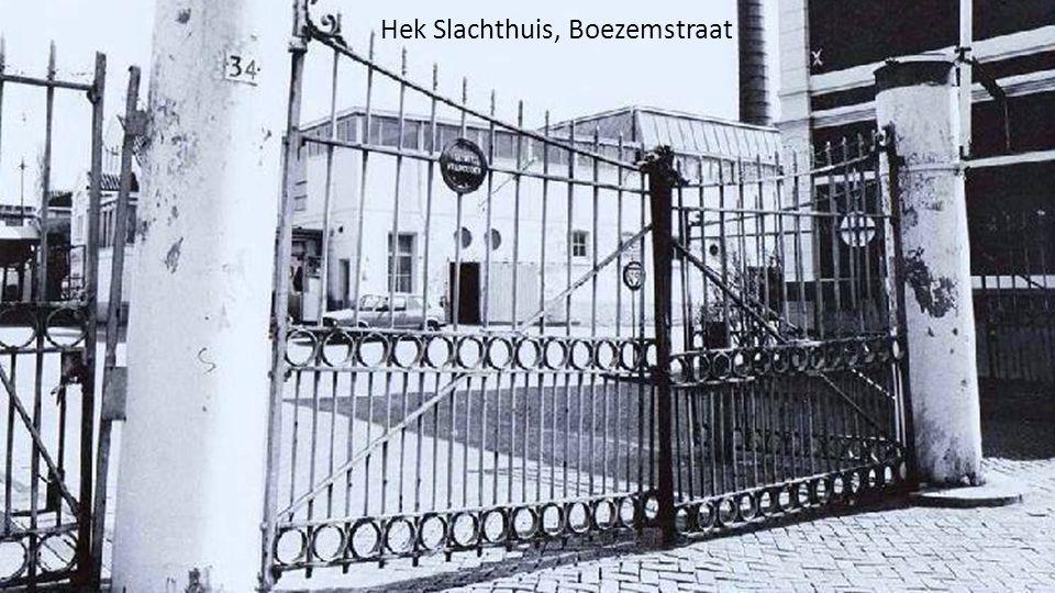 Hek Slachthuis, Boezemstraat