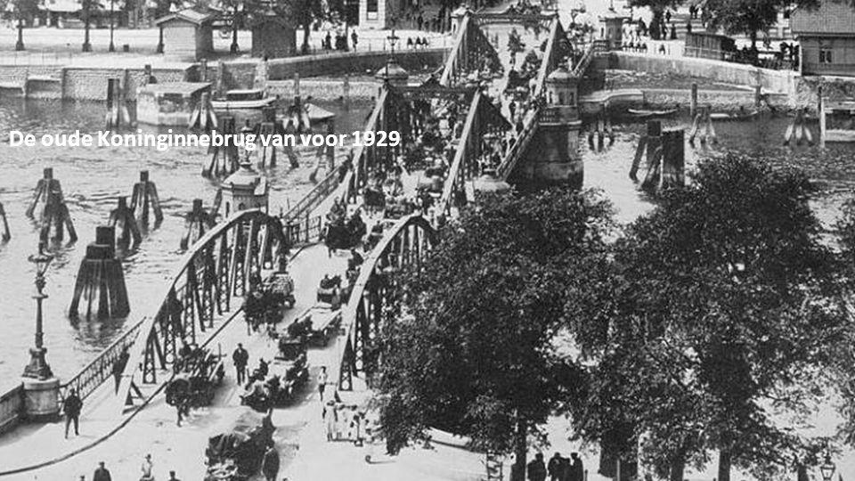 De oude Koninginnebrug van voor 1929