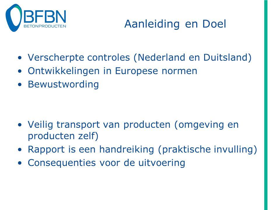 Aanleiding en Doel Verscherpte controles (Nederland en Duitsland)