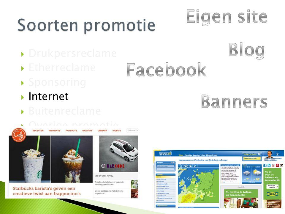 Eigen site Blog Facebook Banners