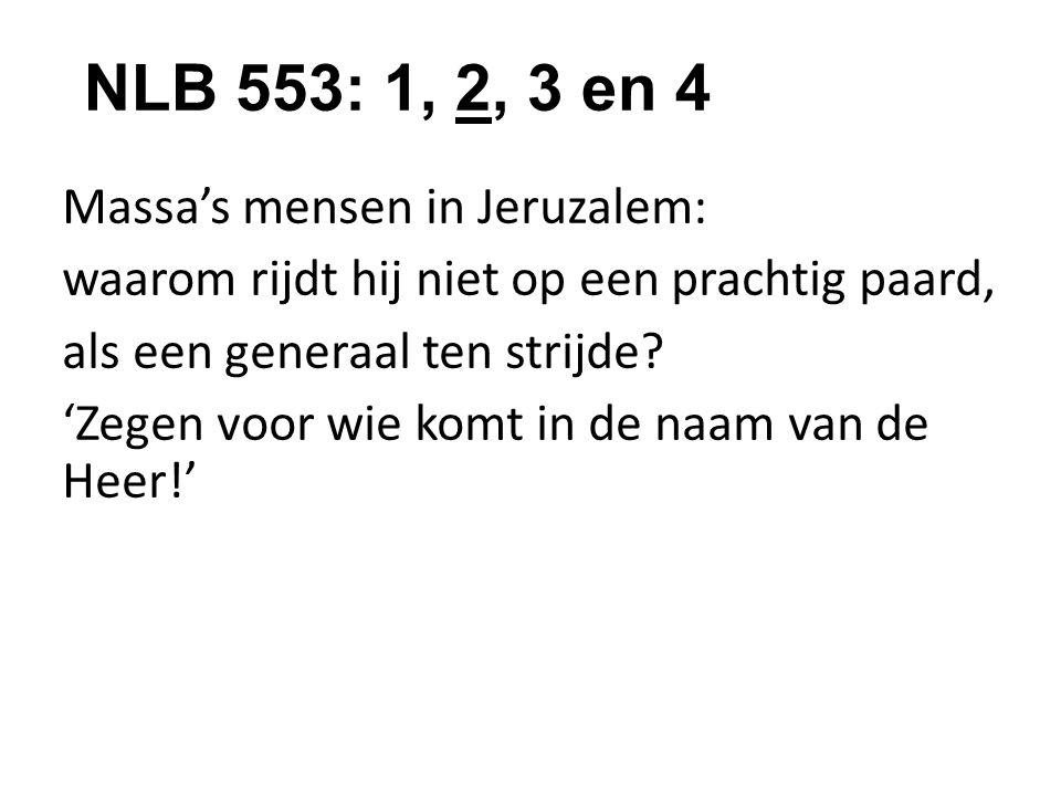 NLB 553: 1, 2, 3 en 4
