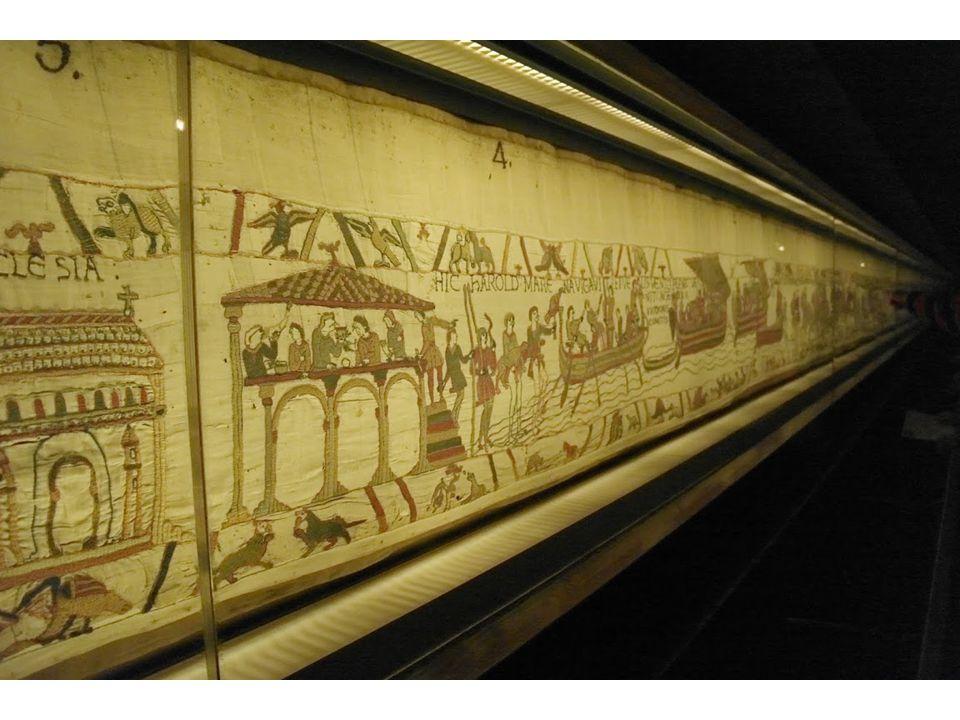 1066 – Slag bij Hastings Tapijt van Bayeaux (70 m x 50 cm)