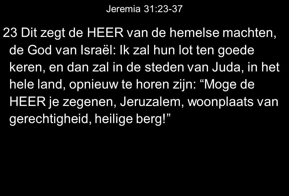 Jeremia 31:23-37