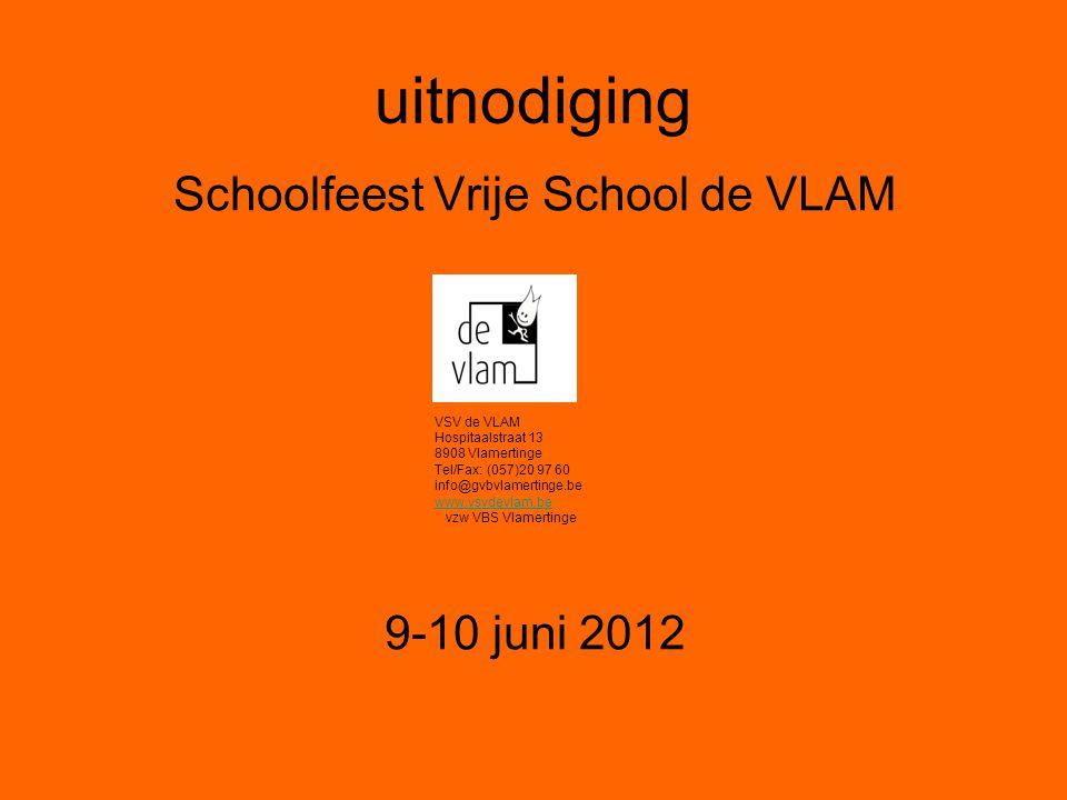 Schoolfeest Vrije School de VLAM