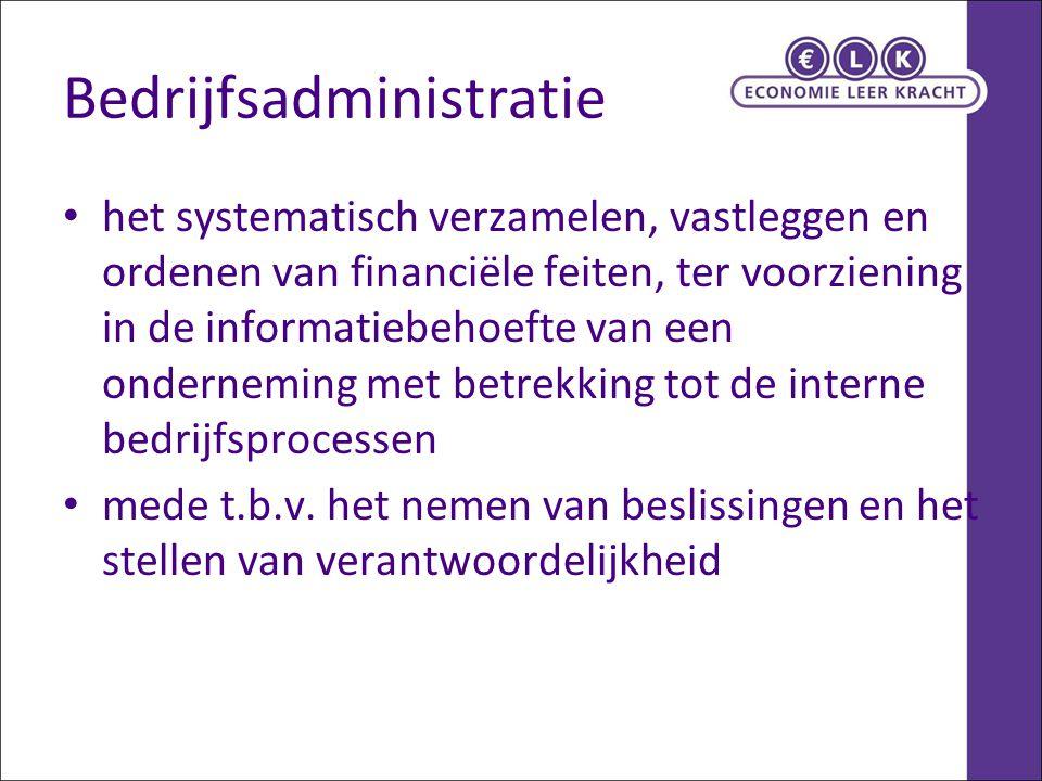Bedrijfsadministratie