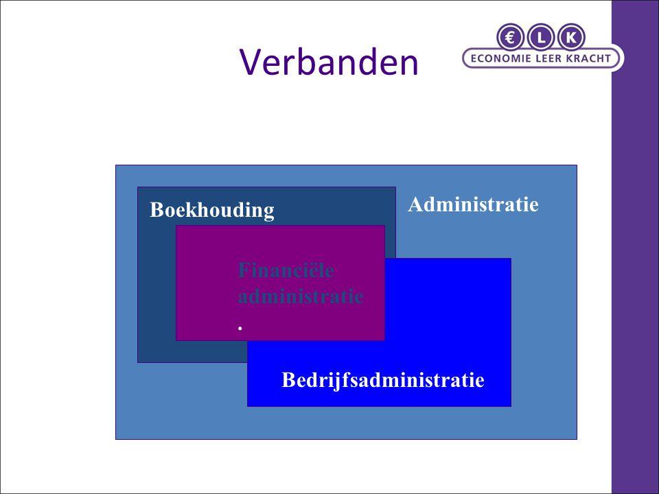 Verbanden Administratie Boekhouding Financiële administratie.