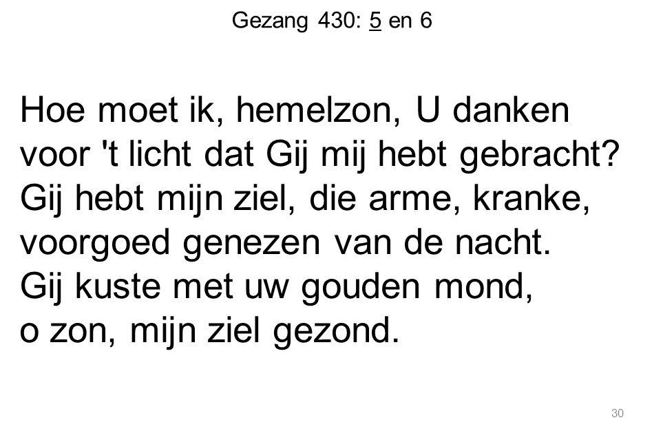 Gezang 430: 5 en 6