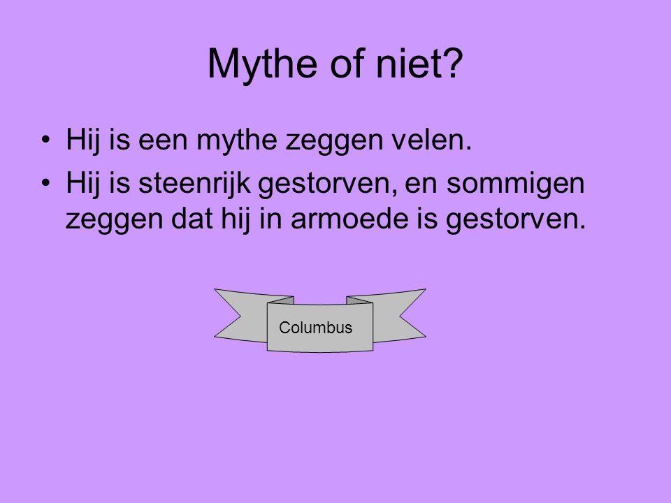Mythe of niet Hij is een mythe zeggen velen.
