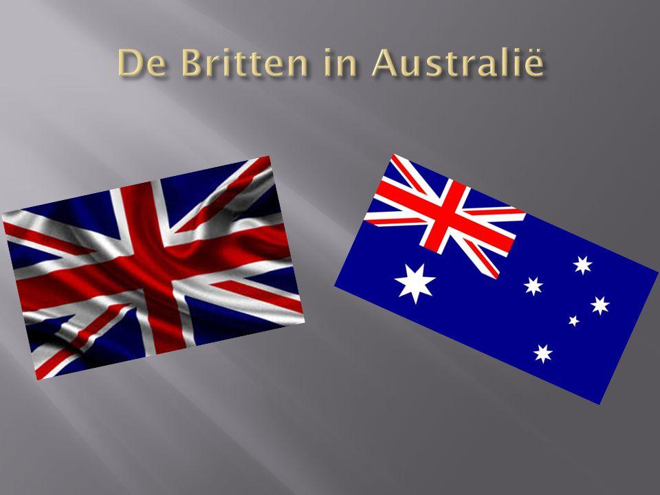 De Britten in Australië