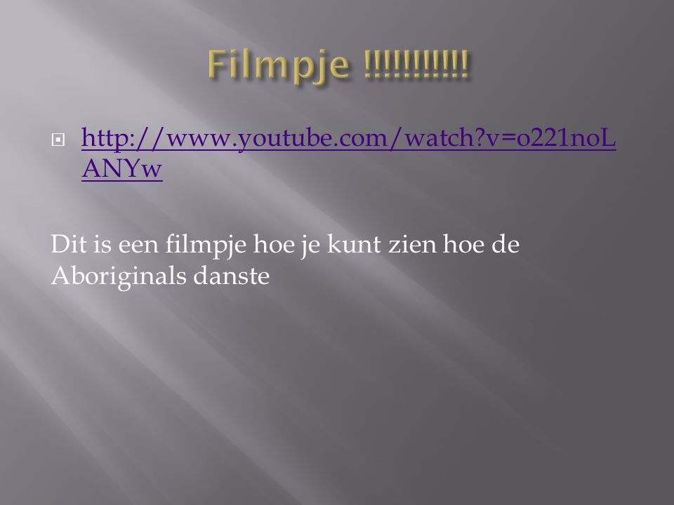 Filmpje !!!!!!!!!!! http://www.youtube.com/watch v=o221noLANYw