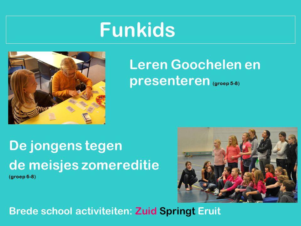 Funkids Leren Goochelen en presenteren (groep 5-8) De jongens tegen