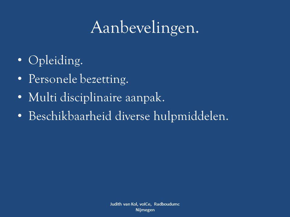 Judith van Kol, voICe, Radboudumc Nijmegen