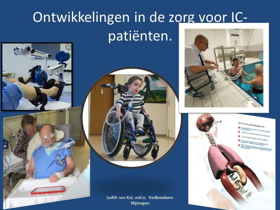 Ontwikkelingen in de zorg voor IC-patiënten.