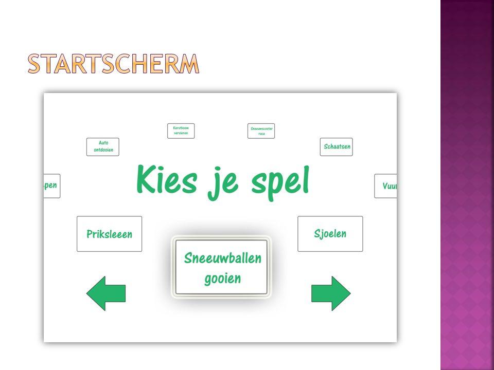 STARTSCHERM