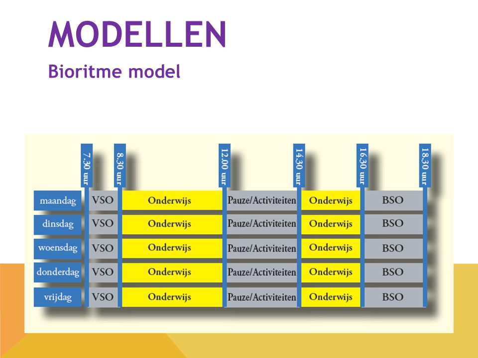 modellen Bioritme model
