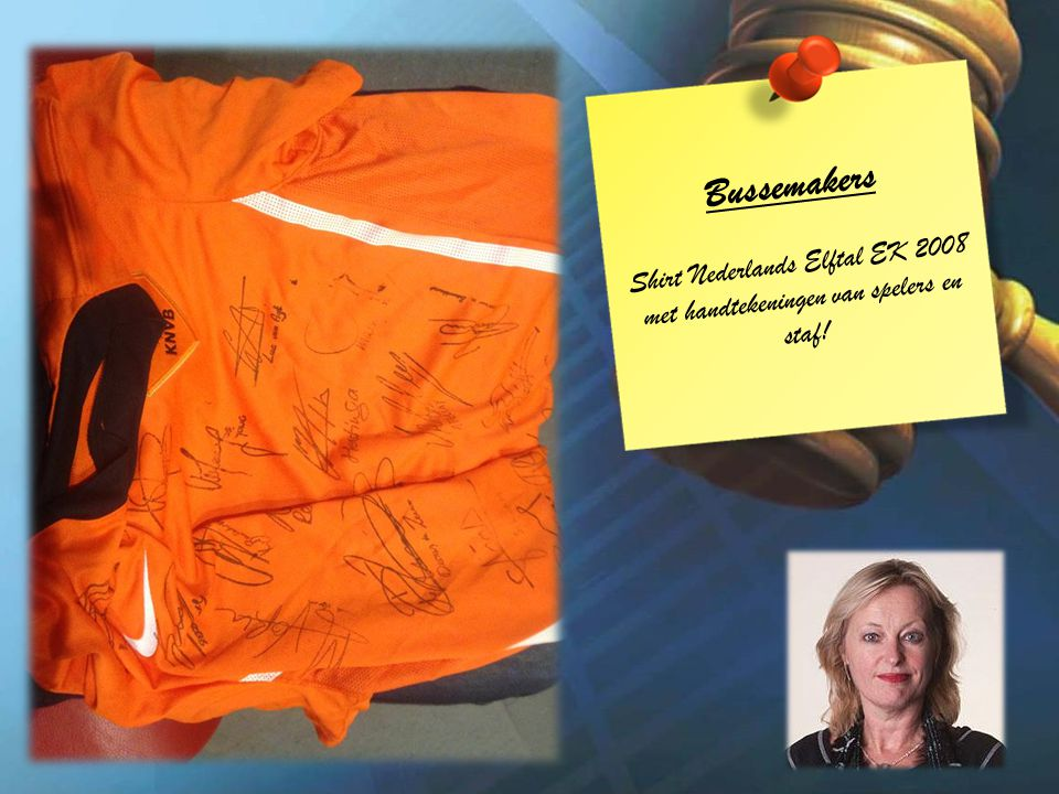 Bussemakers Shirt Nederlands Elftal EK 2008