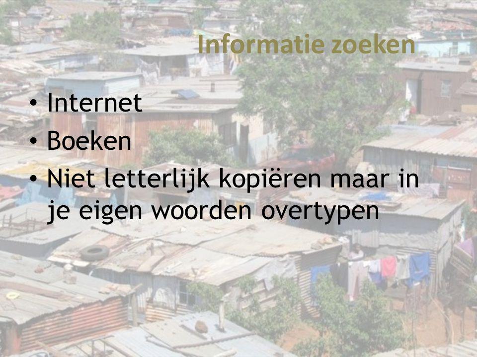 Informatie zoeken Internet Boeken