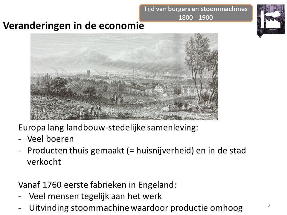 Tijd van burgers en stoommachines 1800 - 1900