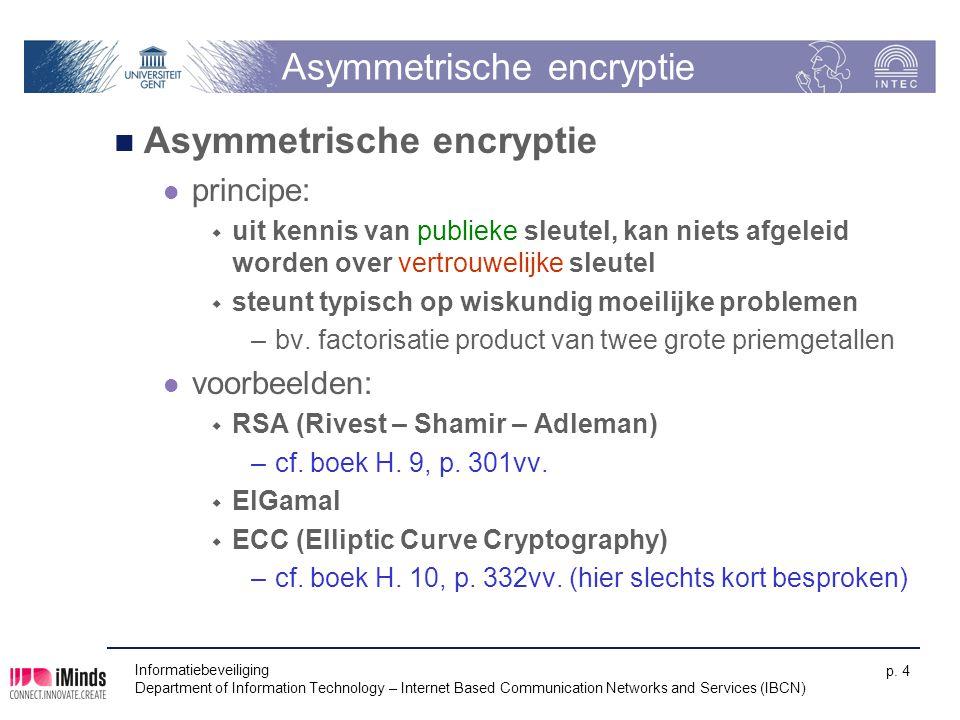 Asymmetrische encryptie