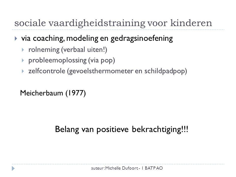 sociale vaardigheidstraining voor kinderen