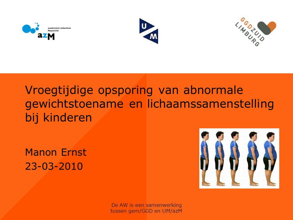 De AW is een samenwerking tussen gem/GGD en UM/azM