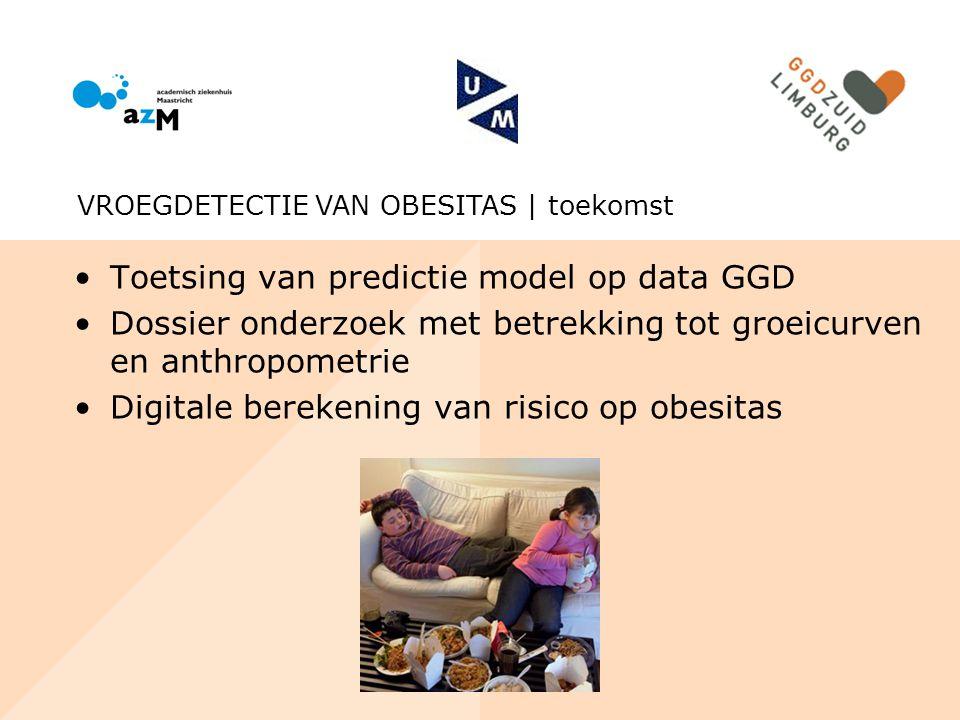 Toetsing van predictie model op data GGD