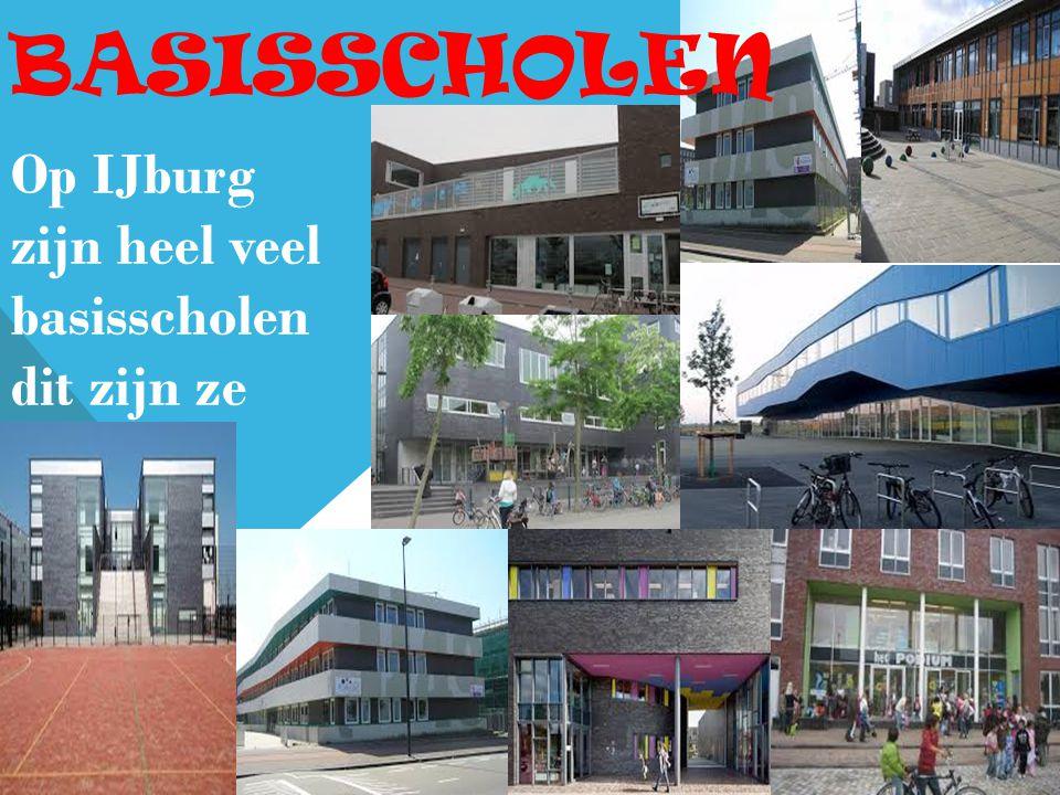 basisscholen Op IJburg zijn heel veel basisscholen dit zijn ze allemaal