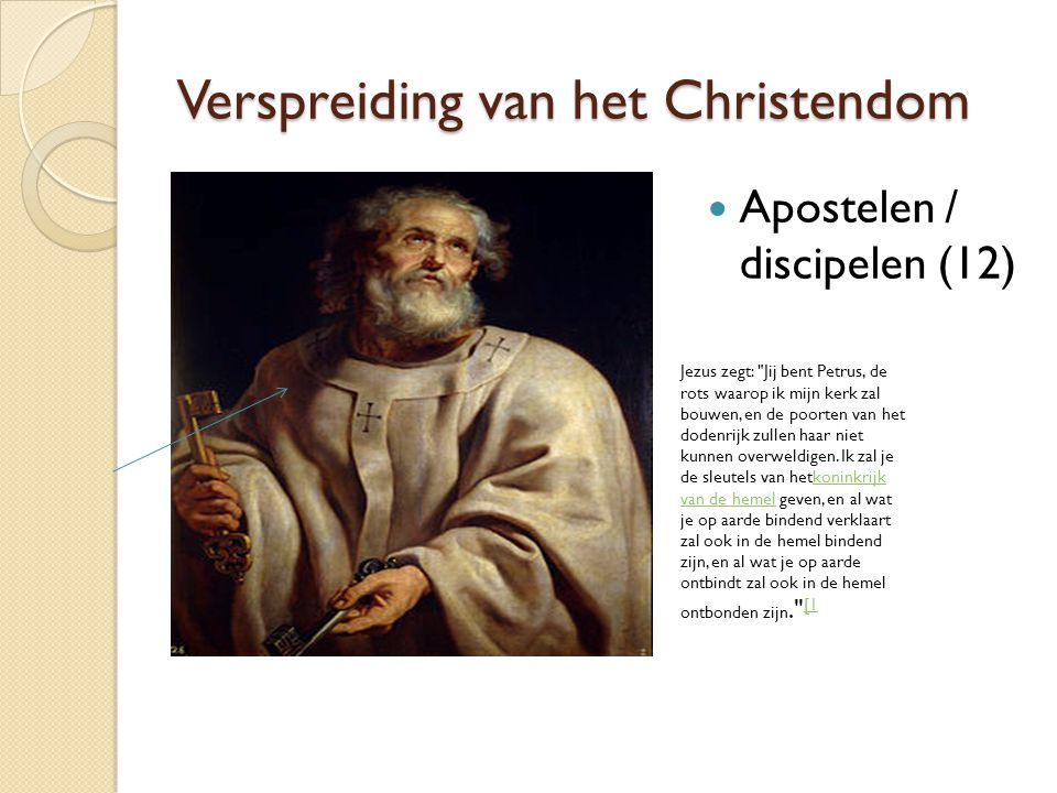 Verspreiding van het Christendom