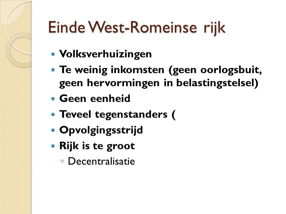 Einde West-Romeinse rijk