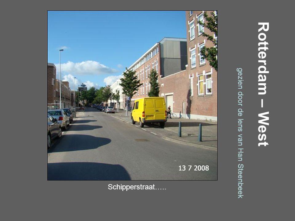 Rotterdam – West gezien door de lens van Han Steenbeek