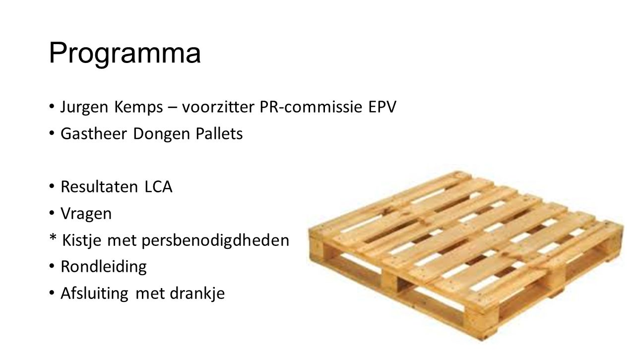 Programma Jurgen Kemps – voorzitter PR-commissie EPV