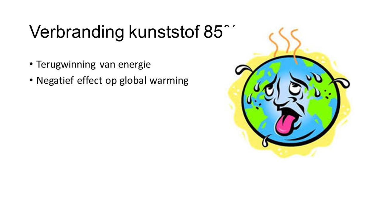 Verbranding kunststof 85%