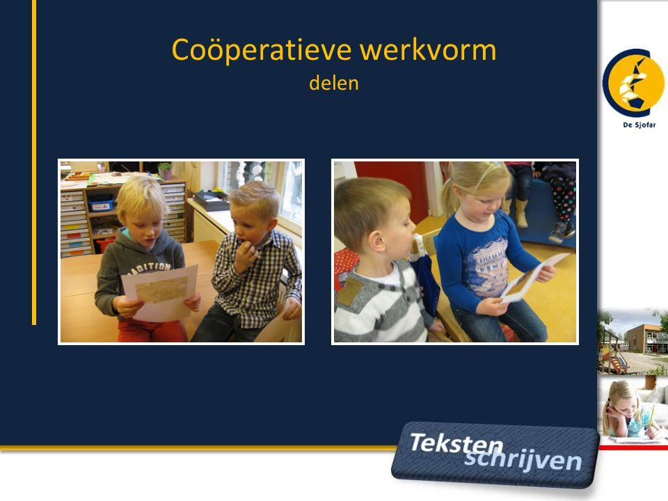 Coöperatieve werkvorm delen