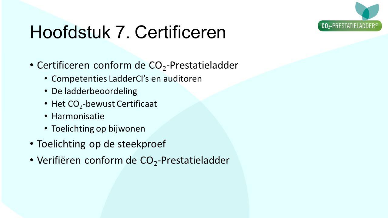 Hoofdstuk 7. Certificeren