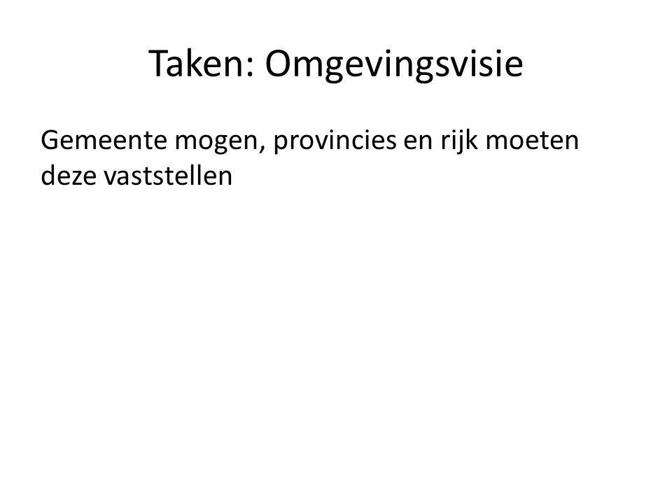 Taken: Omgevingsvisie