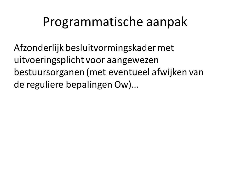 Programmatische aanpak