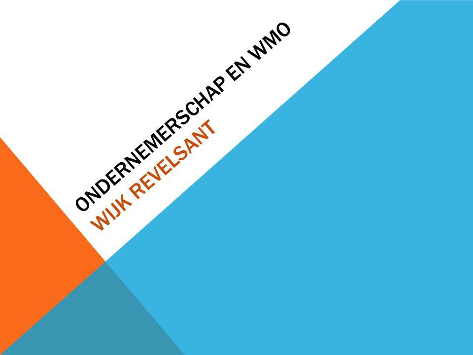 Ondernemerschap en WMO Wijk Revelsant